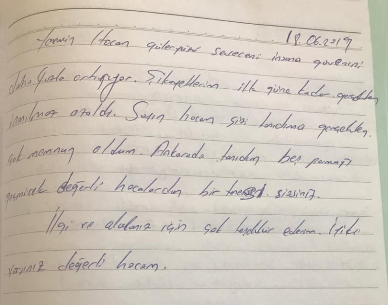 Manuel Terapi Ankara da tanıdığım beş parmağı geçmeyecek değerli hocalardan bir tanesi sizsiniz