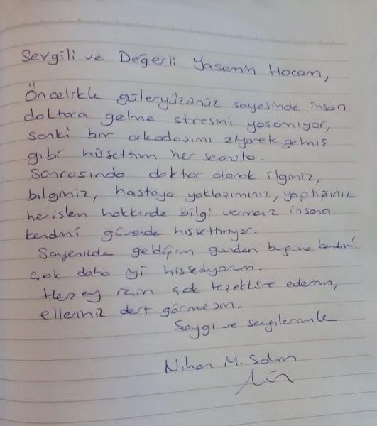 Manuel Terapi- Nihan M. Şahin- Elleriniz dert görmesin.