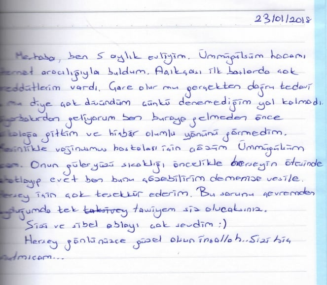 Vajinismus Tedavisi- Diyarbakır'dan geldim